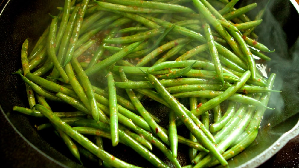 Image of Sauteed Green Beans: Buttery, Garlicky Goodness