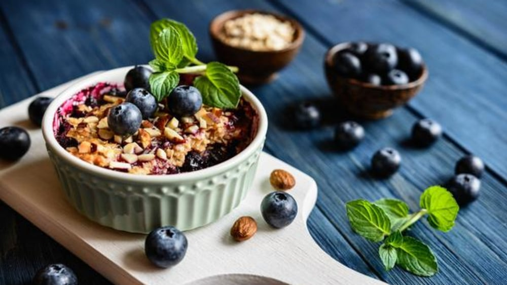 Image of Blueberry Crumble for Two