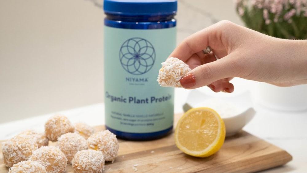 Image of Lemon Coconut Bliss Balls