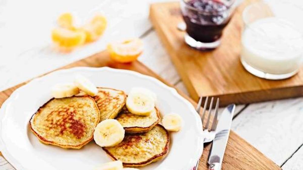 Image of Simple Banana Pancakes Recipe