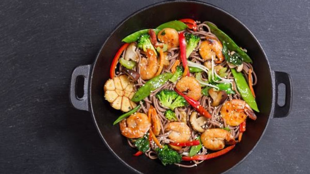Image of Quick Shrimp Stir Fry