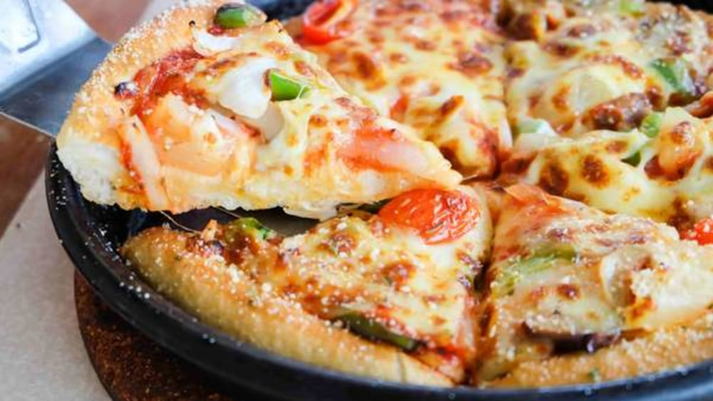 Image of Cast iron pizza recipe