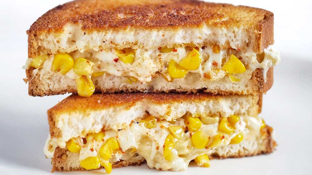 Image ofElote Grilled Cheese