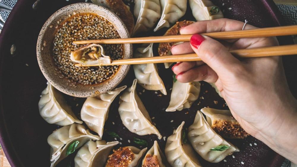 Image ofDumplings au tofu, shiitake et Kimchi doux