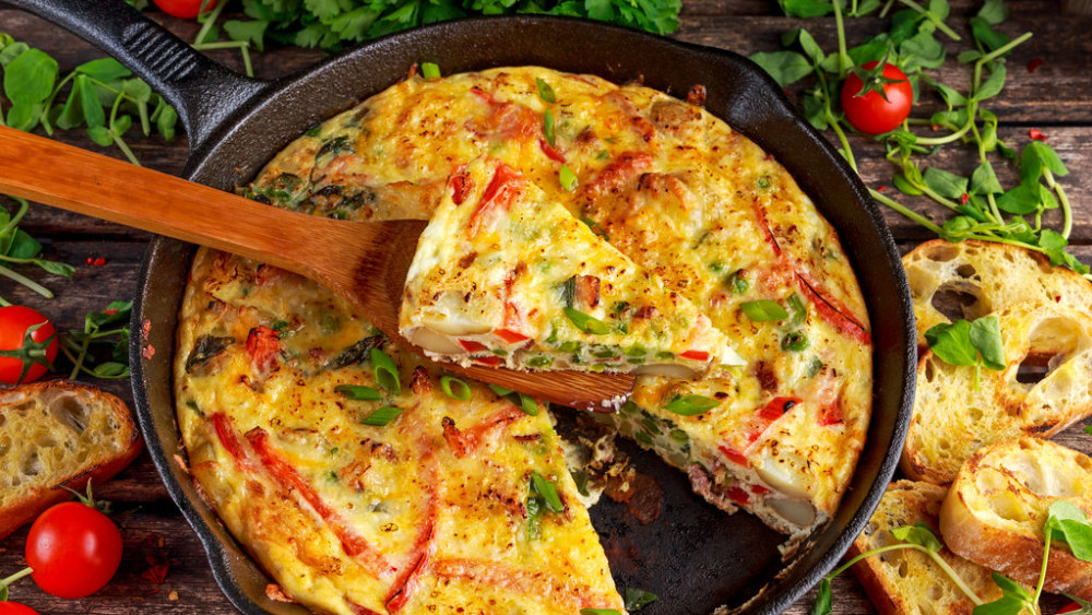 Image of Traditional Frittata Recipe: Oven-Baked in 30 Min!