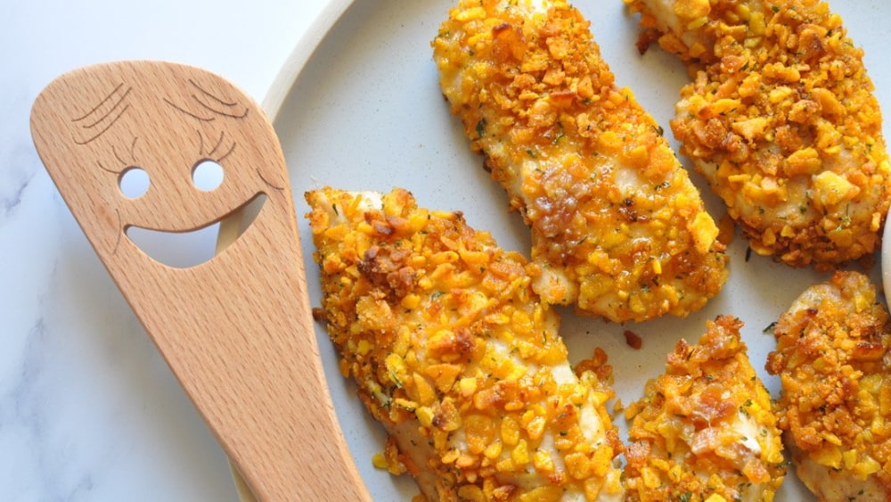 Image ofPlantain Crusted Chicken Fingers