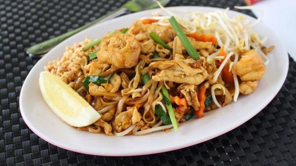Image de recette de poulet Pad Thai