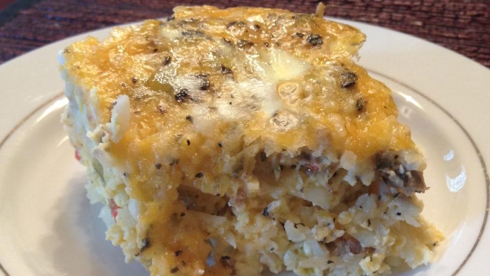 Image ofDelicious Brunch Egg Bake – Slow Cooker/Crock Pot Recipe