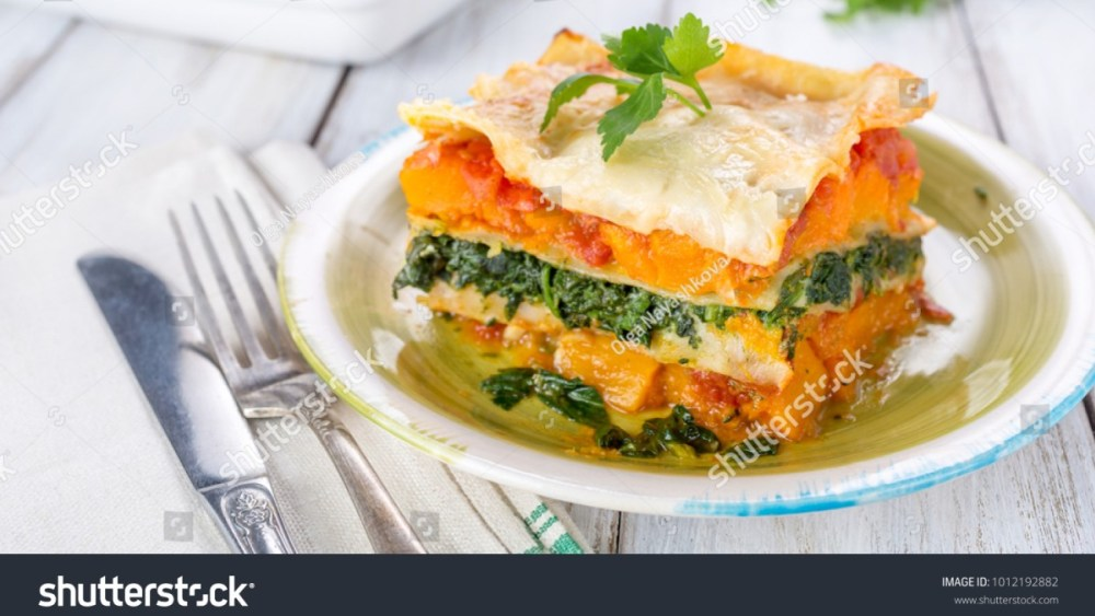 Image of Veggie Butternut Squash Lasagna