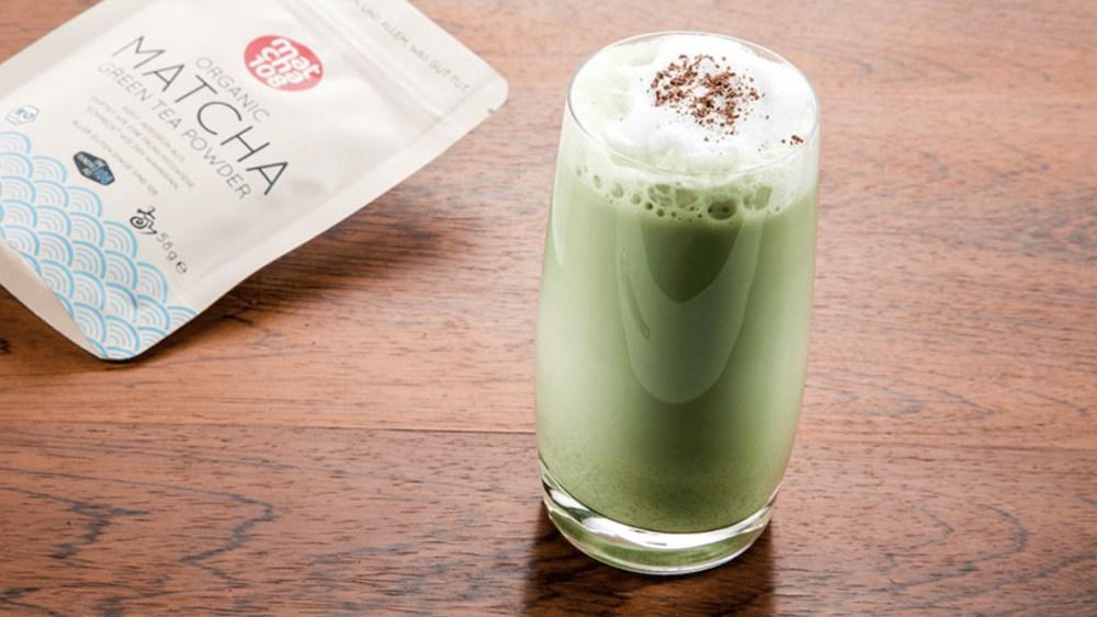 Image of Matcha Latte Zubereitung - Schritt für Schritt