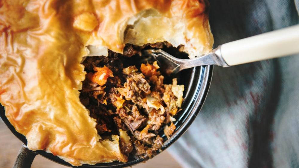 Image de la recette de tarte au bœuf: délicieuse et intemporelle
