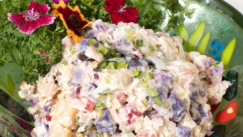 Image of ʻUlu & Okinawan Sweet Potato Salad