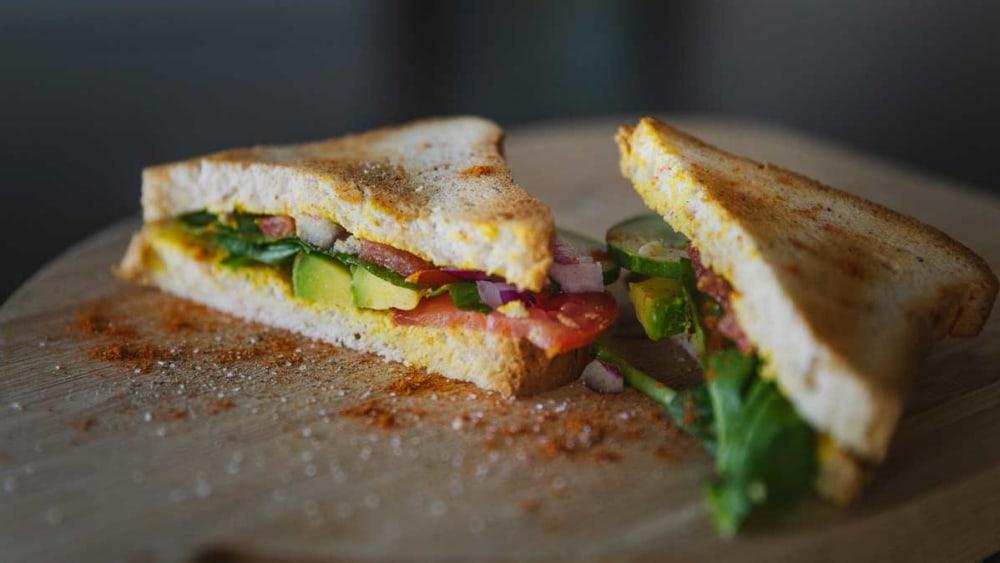 Image ofToasted Veggie Sandwich