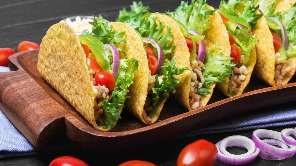Image de la recette de tacos de dinde sains avec des épices mexicaines authentiques