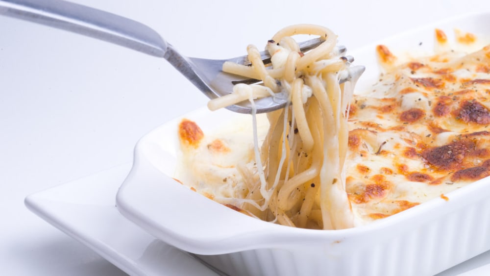 Image of Baked Spaghetti Recipe: An Easy Cheesy Favorite