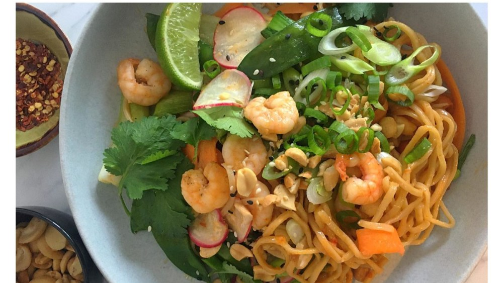 Image ofBang Bang Prawn & Noodle Stir Fry Recipe