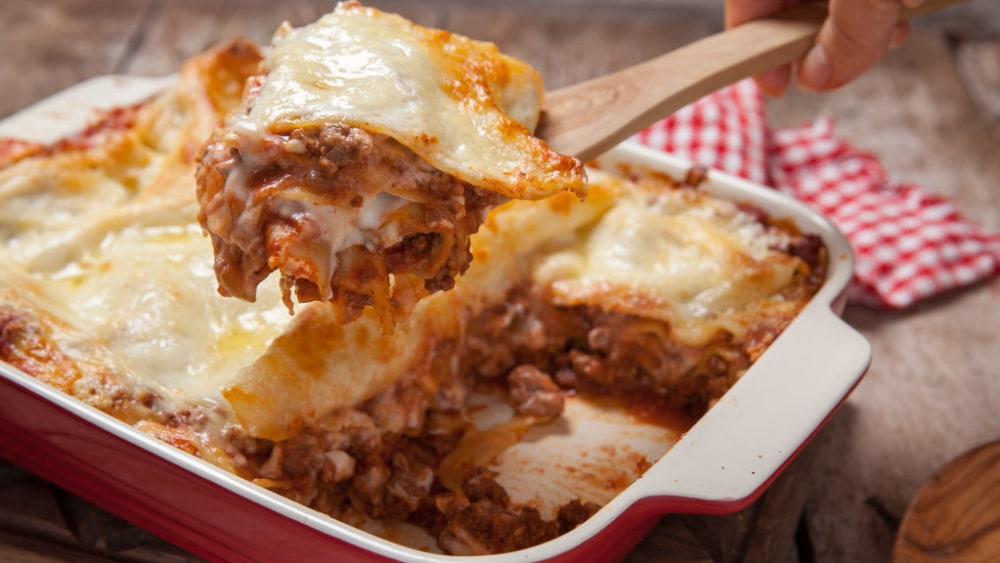 Image de la recette de nouilles de lasagne et de lasagne sans gluten