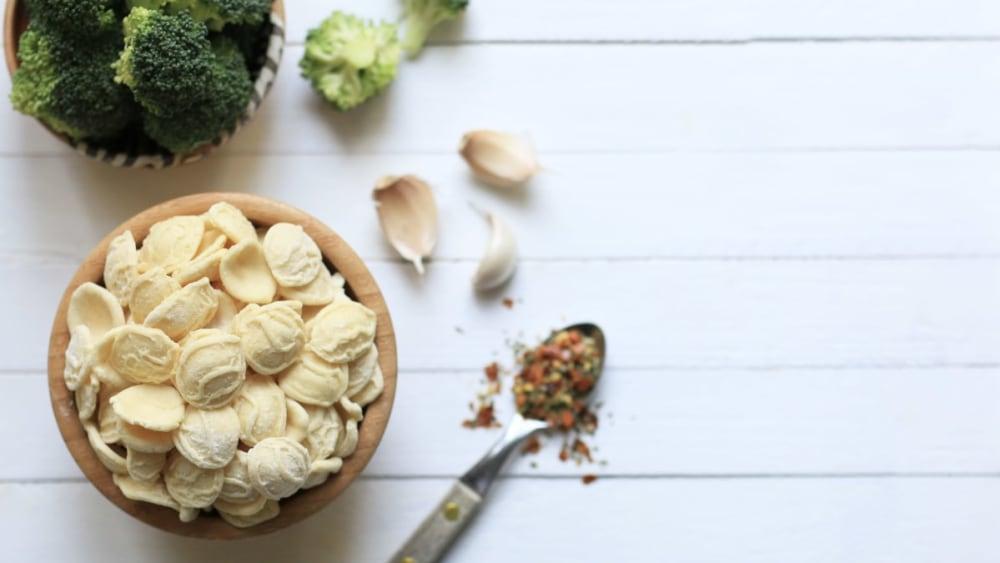 Image ofOrecchiette with Broccoli and Chilli