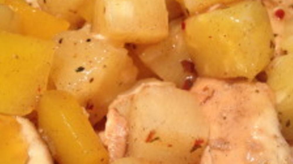 Image ofCrock Pot/Slow Cooker Caribbean Jerk Chicken Recipe