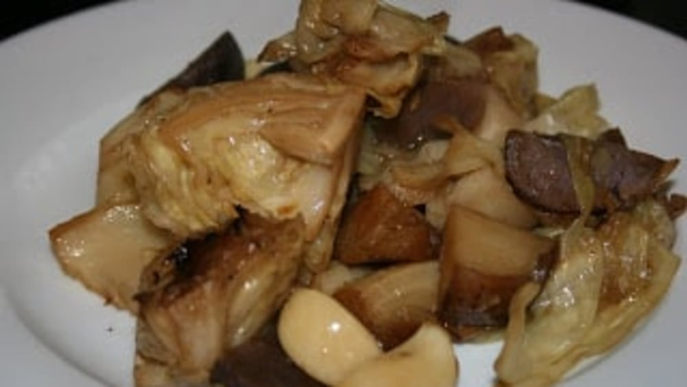 Image ofSt. Patrick's Day -- Roasted Cabbage and Potatoes -- Slow Cooker Recipe