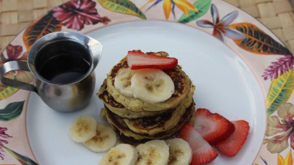 Image ofʻUlu Flour Banana Pancakes