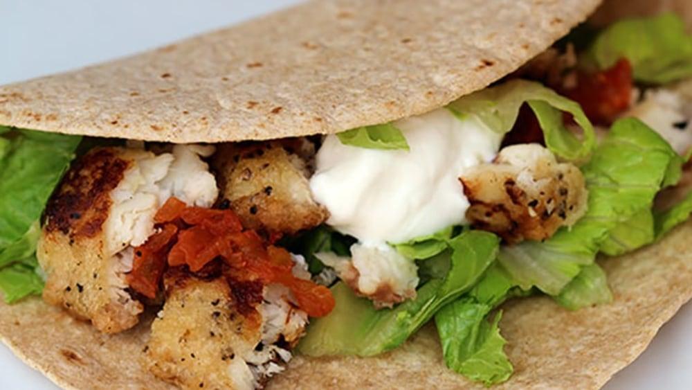 Image ofOven Crispy Fish Tacos