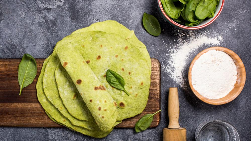 Image of Spinach Tortilla Recipe