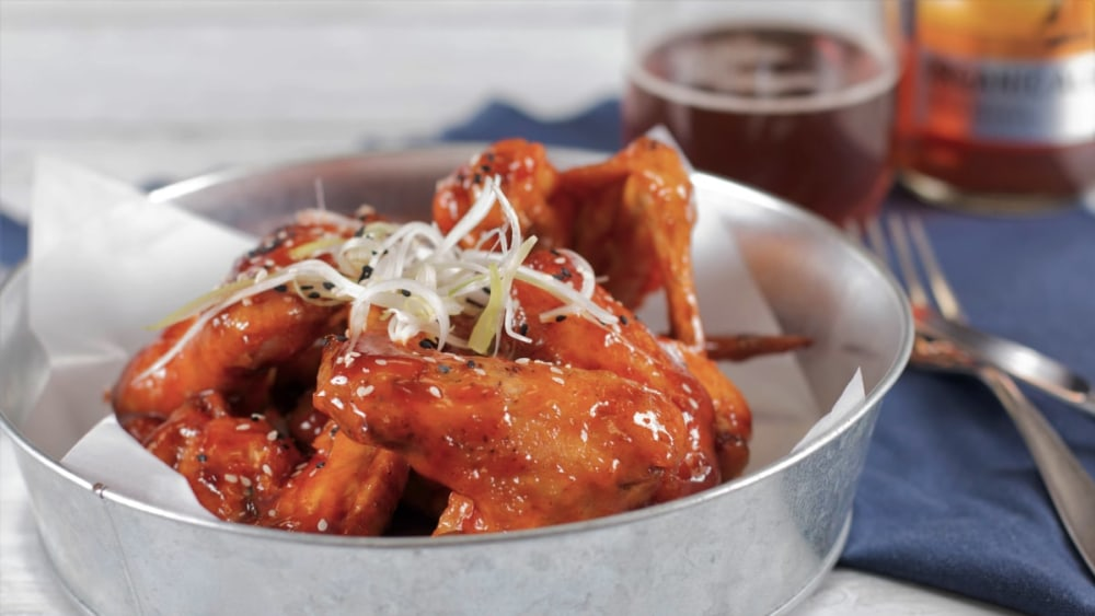 Image ofSpicy Korean Chicken Wings Recipe
