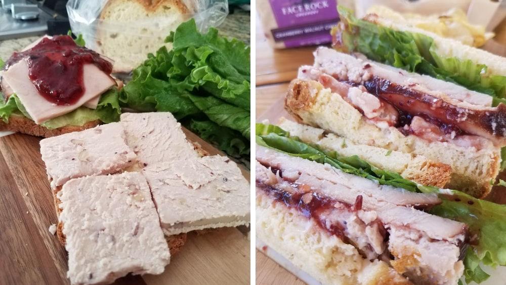 Image of Cranberry Walnut Cheddar Ultimate Turkey Sandwich