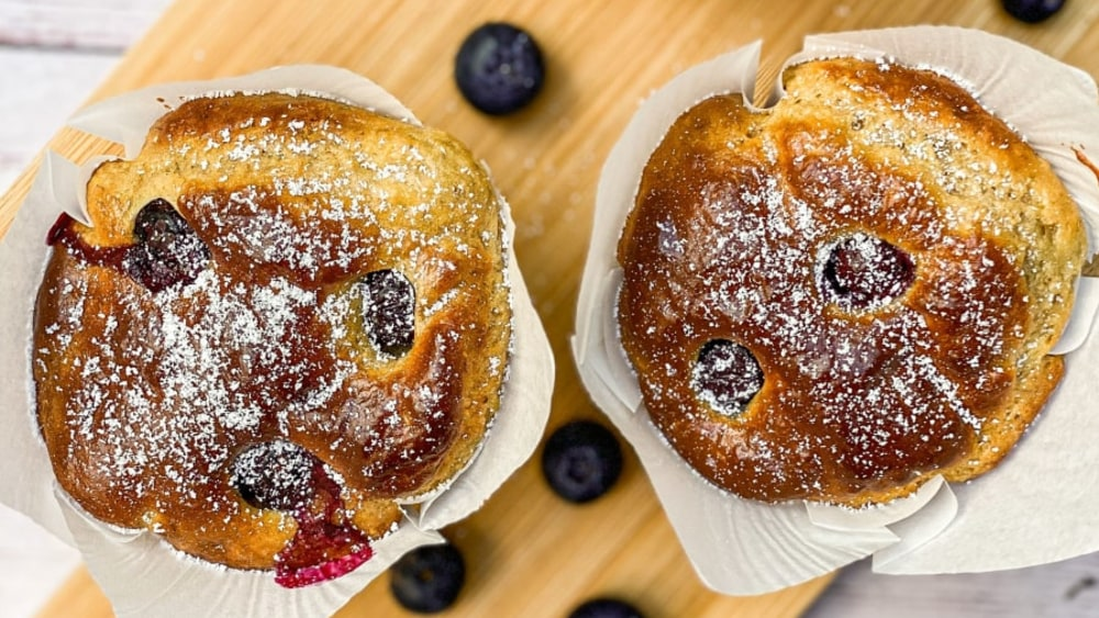 Image ofProtein Blueberry Muffins
