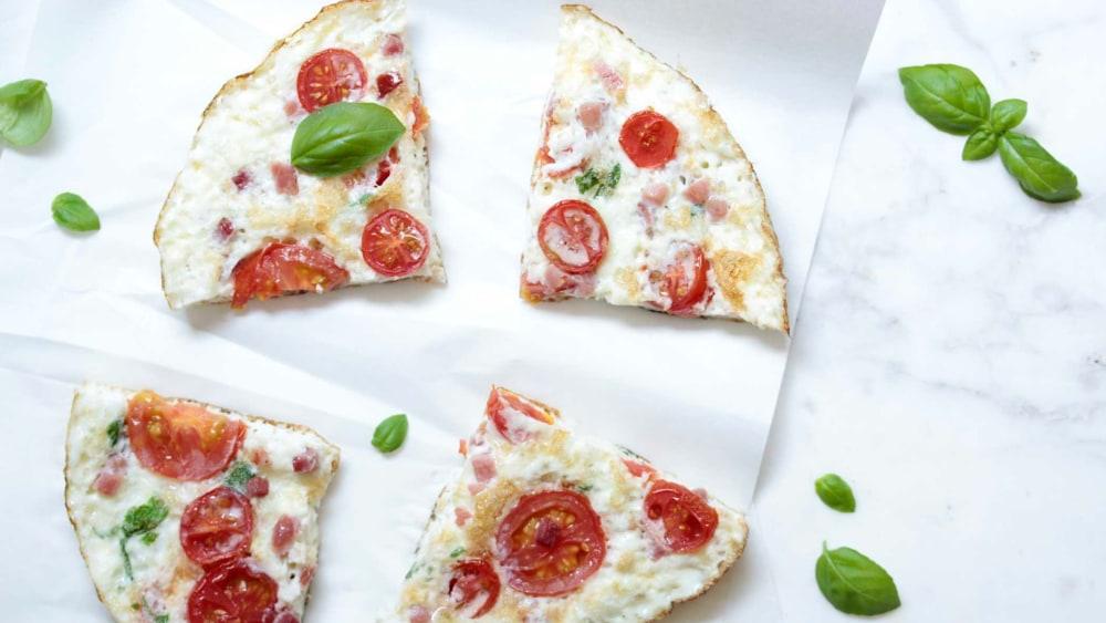 Image ofOmelette | Schinken, Tomate & Basilikum