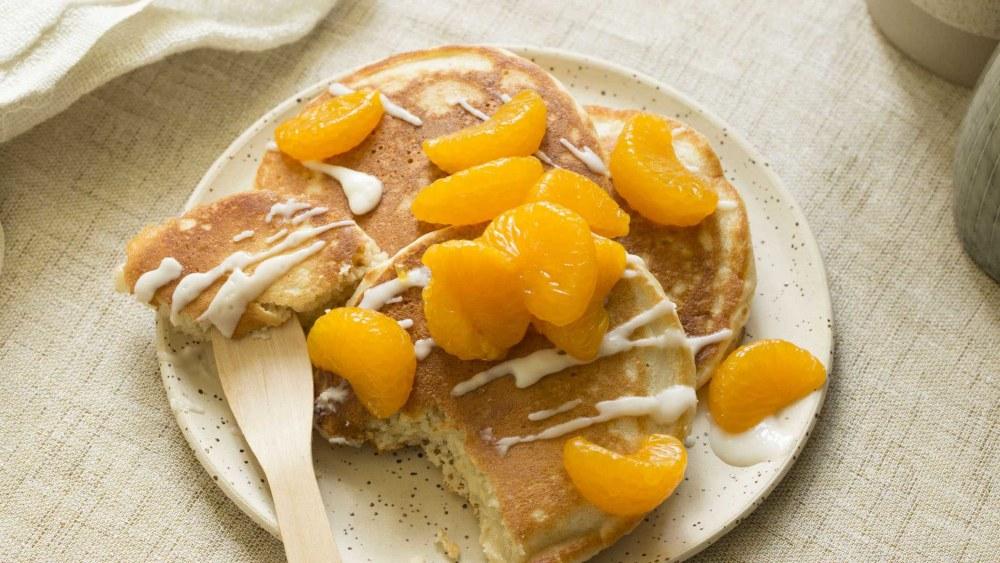 Image ofPancakes   Kokos, Mandarine, Buttermilch