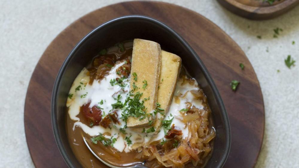Image ofSuppe   Kokos, Sauerkraut, Tofu