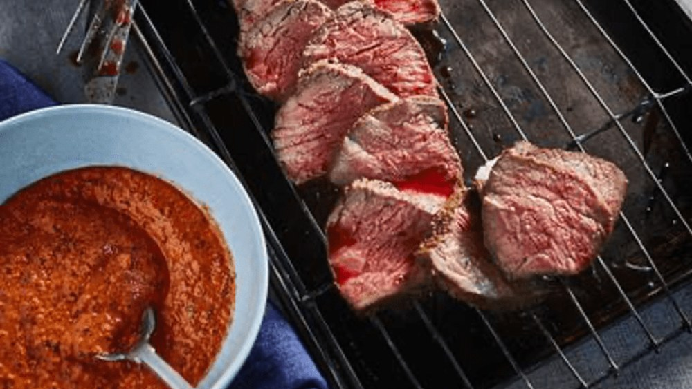 Image ofTri-tip with Romesco sauce