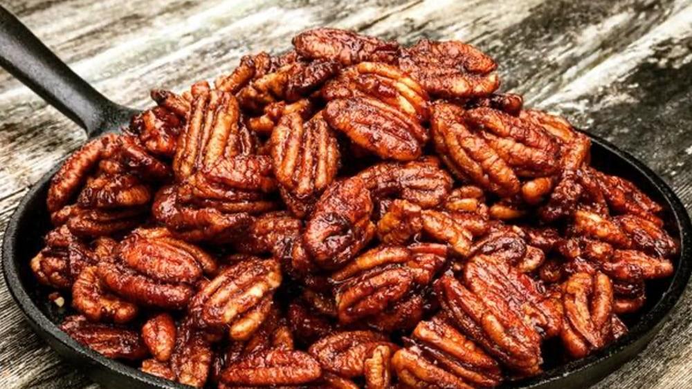 Image ofSmoked Bourbon Caramel Pecans