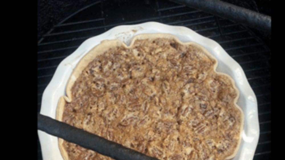 Image ofHickory Smoked Bacon Bourbon Pecan Pie