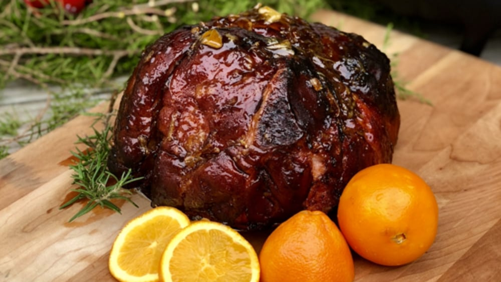 Image ofHoney Orange Bourbon Double Smoked Ham