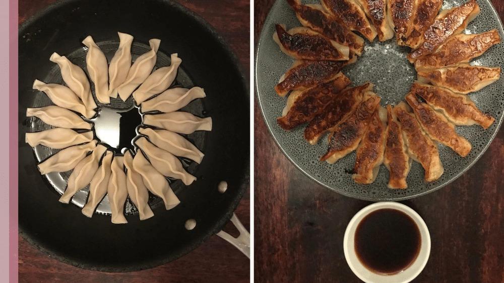 Image of Pan Fried Pork Dumplings