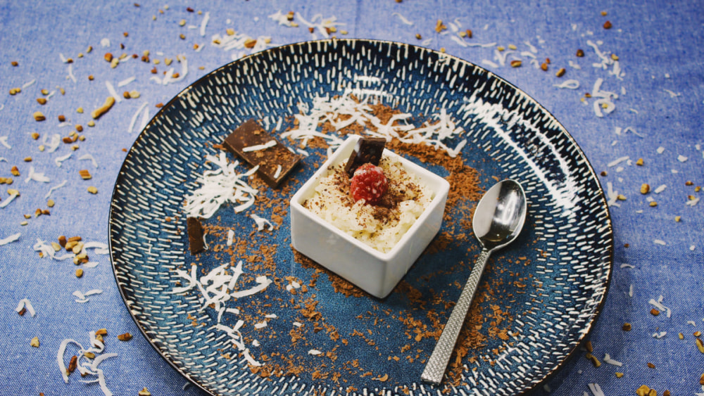 Image of Coconut Rice Pudding