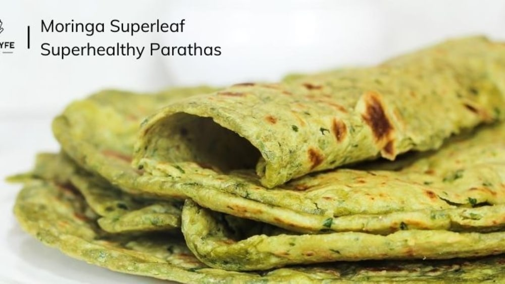 Image of The Hot Moringa Parathas