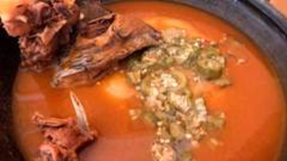 Image ofHow to make goat light soup