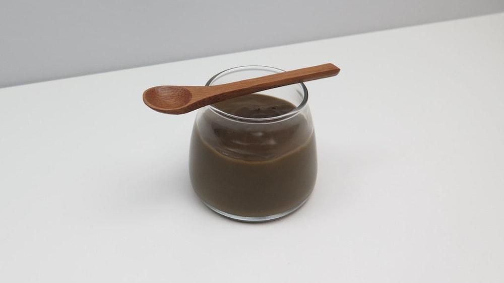 Image ofHojicha Pudding
