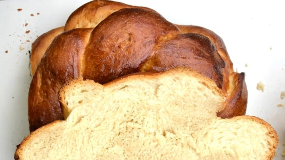 Image ofSwiss-Style Zopf Bread Loaf