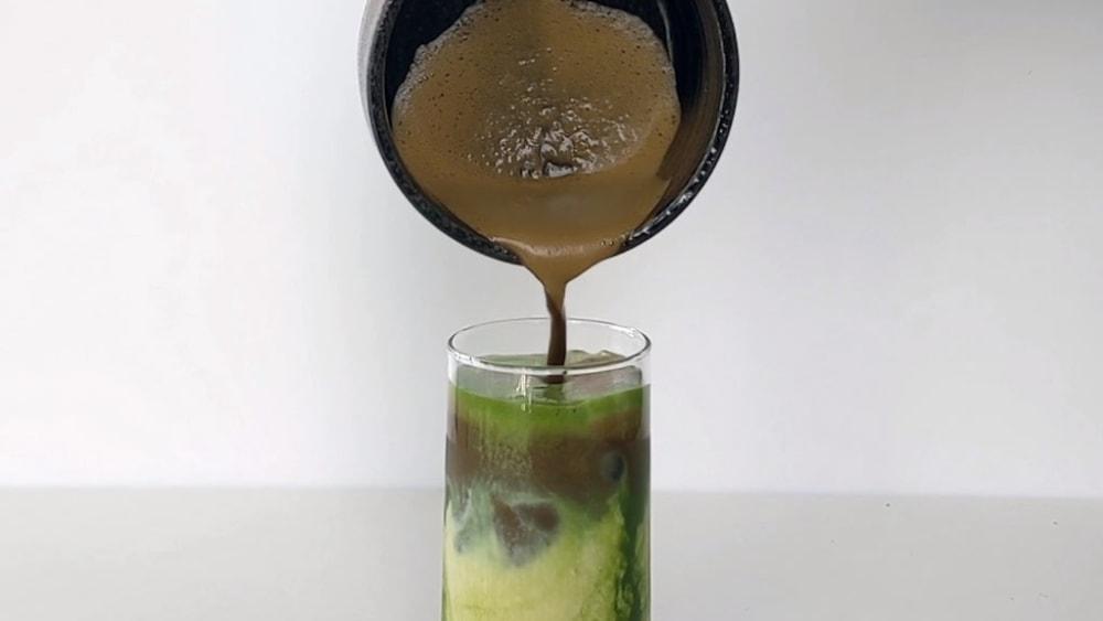 Image ofMatcha & Hojicha Fusion Latte