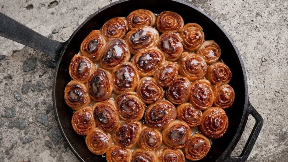 Image ofSticky Gingerbread Rolls