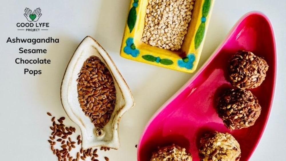Image of Nutritious Ashwagandha Sesame Pops