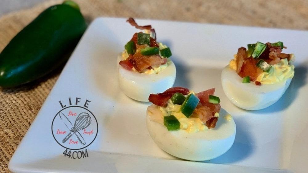 Image ofJalapeño Bacon Deviled Eggs