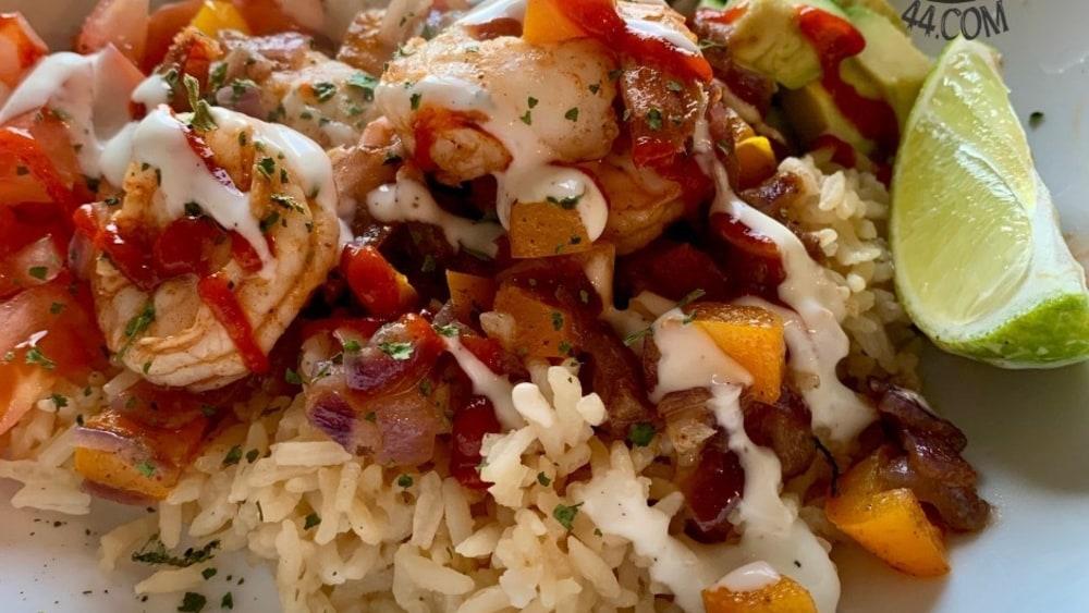 Image ofHabanero Mango Shrimp Bowl