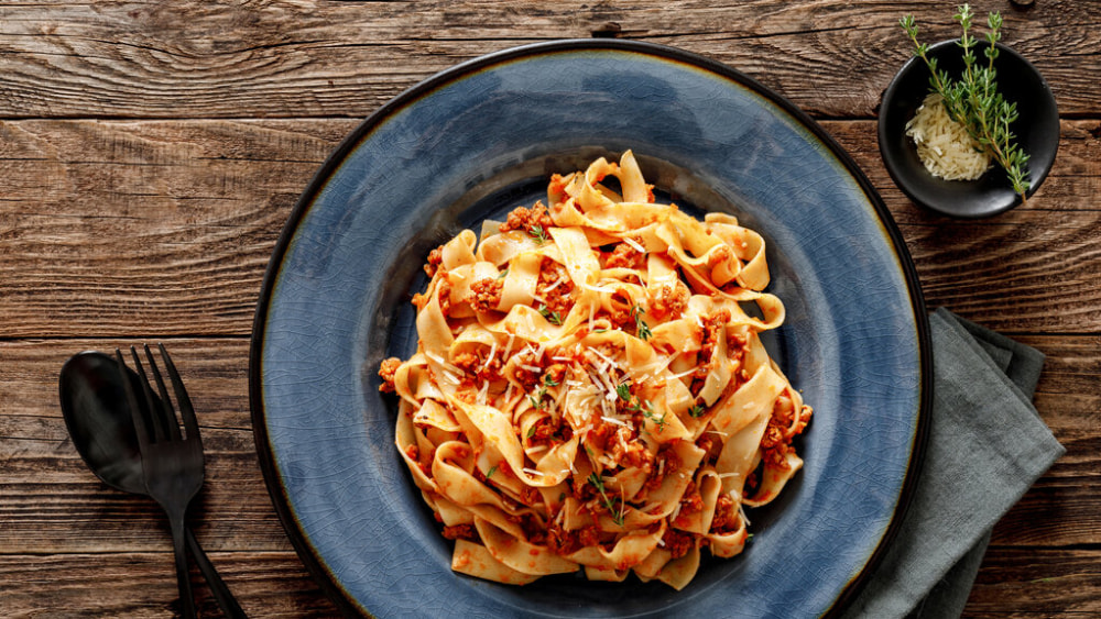 Image of The Perfect Fettuccine Bolognese Recipe