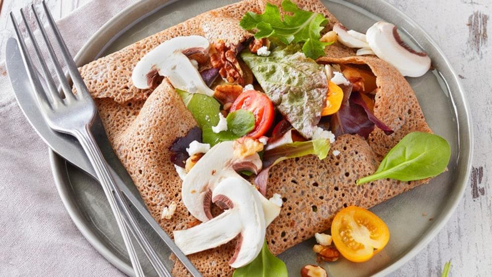 Image ofSpring Buckwheat Crêpe Salad